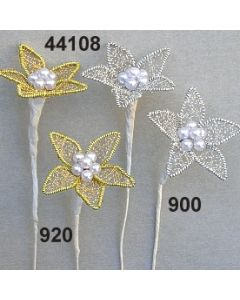 Perldrahtblume spitz / 44108