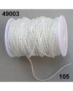Perlenkette 3mm / irisiere / 49003.105