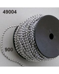 Perlenkette 4mm / silber / 49004.900