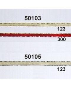 Satinband mit Goldkante / 3mm / 50103