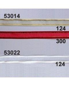 Organdy-Band mit Rand / 14mm / 53014