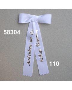 Firmungsmascherl 25mm / weiß / 58304.110