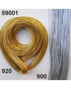 Goldkordel ⌀ 0,5 mm / silber / 59001.900