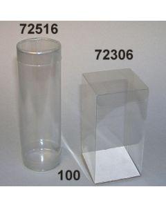 Klarsicht Runddose Verpackung / glasklar / 72516.100