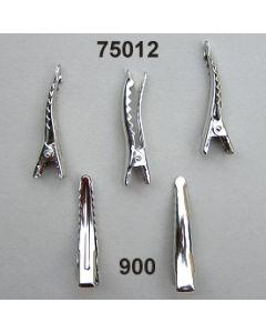 Broschen Clip 35 mm / silber / 75012.900