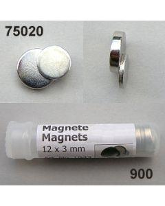 Magnet-Set für Anstecker / silber / 75020.900