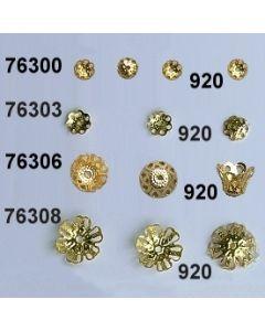 Goldkrönchen Blütenkelch / gold / 76306.920