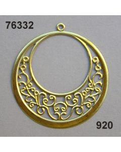 Filigran Ornament Kreisform / gold / 76332.920