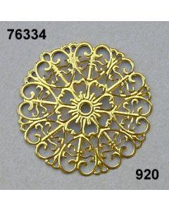 Filigran Ornament Rundform / gold / 76334.920
