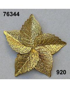 Filigran Blätter x5 / gold / 76344.920