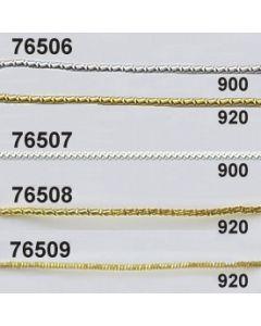 Goldschlangenbouillon ø1mm / gold / 76509.920