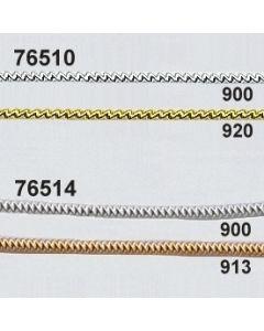 Silber- und Goldschlangenbouillon ø2mm / 76510