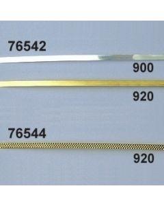 Lahndraht 1,5 mm facettiert / gold / 76544.920