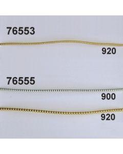 Perldraht fein ø 1mm / gold / 76553.920