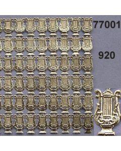 Papier-Lyra klein / gold / 77001.920