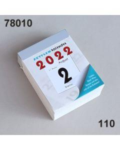 Abreiß Block-Kalender / weiß / 78010.110