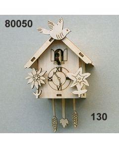 Holz-Kuckucksuhr / natur / 80050.130