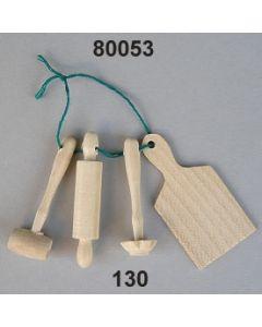 Holz Küchenutensilien / natur / 80053.130