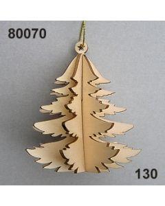 Holz-Tanne 3D / natur / 80070.130