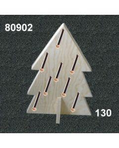 Holzbaum Display klein / natur / 80902.130