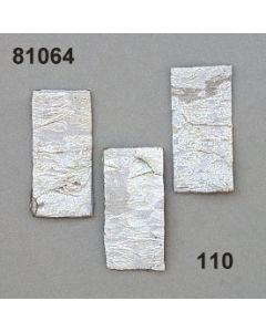 Birkenart-Rechteck / weiß / 81064.110