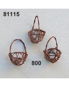 Nest-Korb mit Henkel / braun / 81115.800