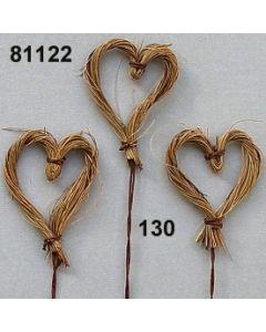 Kokos-Herz am Draht / natur / 81122.130