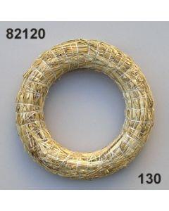 Strohkranz 20 cm / natur / 82120.130