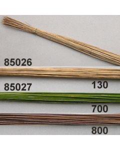 Kokosstiele lackiert / braun / 85027.800