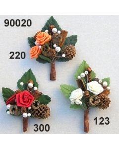 Aufleger Dior-Rose  / 90020