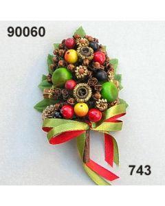Gewürz-Beeren-Aufleger / grün-rot / 90060.743