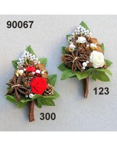 Aufleger Rose-Bouillon mini  / 90067