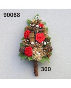 Aufleger Rose-Bouillon / rot / 90068.300