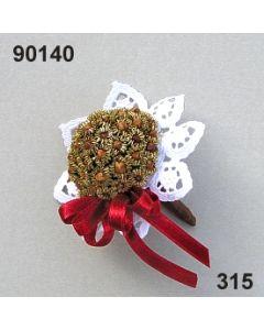 Kronen-Nelken Bouquet / dunkelrot / 90140.315