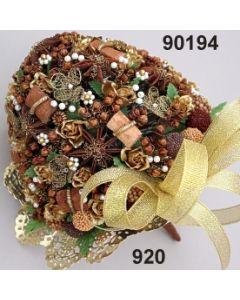 Rosen-Sternanis Bouquet XL / gold / 90194.920