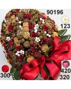 Rosen-Sternanis Bouquet XXL ⌀ 18x14 cm / 90196