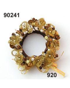 Bouillonblüten-Kranz / gold / 90241.920