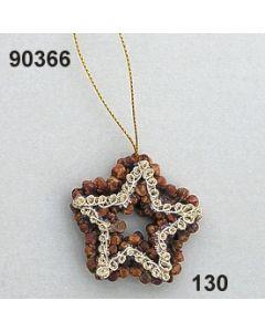 Nelken-Stern klein Borte / natur / 90366.130