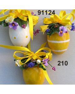 Osterei dekoriert 3 unterschiedliche  / 91124