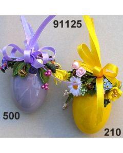Osterei glänzend dekoriert  / 91125