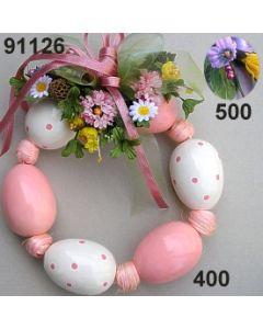 Osterei Kranz dekoriert  / 91126