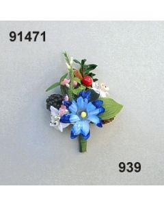 Alpen-Blumen Aufleger mini / bunt / 91471.939