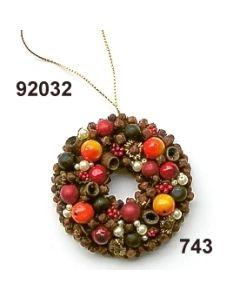 Gewürzornament Ring / grün-rot / 92032.743