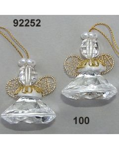 Acryl-Diamant Engerl / glasklar / 92252.100