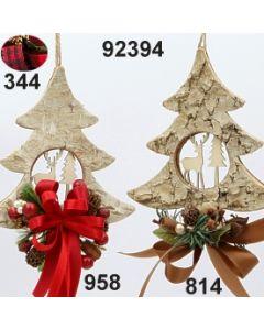 Birken-Baum Motive dekoriert / 92394