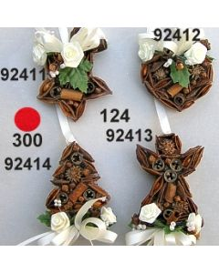Gewürzbehang Stern klein dekoriert  / 92411
