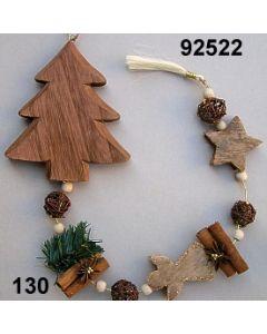 Girlande mit Holzbaum / natur / 92522.130