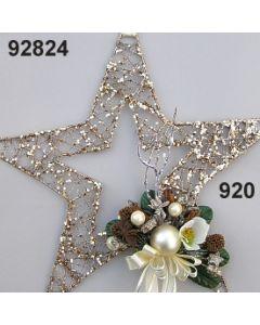 Glimmer Draht Stern groß Deko / gold / 92824.920