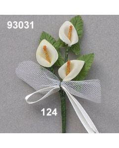Calla-Anstecker klein / champagner / 93031.124