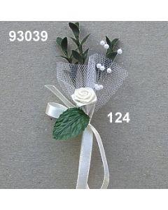 Myrte Anstecker mit Dior Rose / champagner / 93039.124